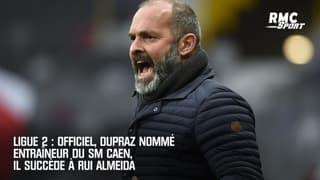 Ligue 2 : Officiel, Dupraz nommé entraîneur du SM Caen