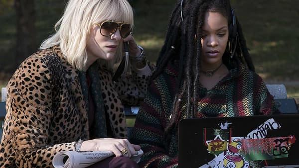 "Cate Blanchett et Rihanna dans ""Ocean's 8""."