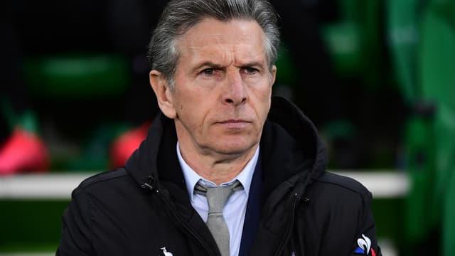 Claude Puel, entraîneur de Saint-Etienne