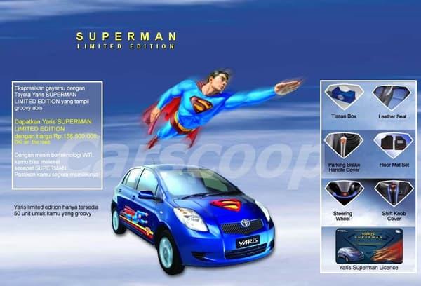 La boite de mouchoirs Superman était inclue. Une affaire !