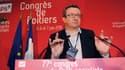 """Le député PS """"frondeur"""" Christian Paul, samedi 6 juin, à Poitiers, lors du Congrès PS."""