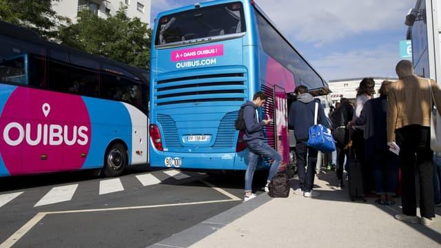 Ouibus, iliale de la SNCF, a transporté 4,3 millions de passagers sur ses autocars en 2017.