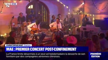 Christophe Maé se prépare à reprendre sa tournée avec un premier concert post-confinement