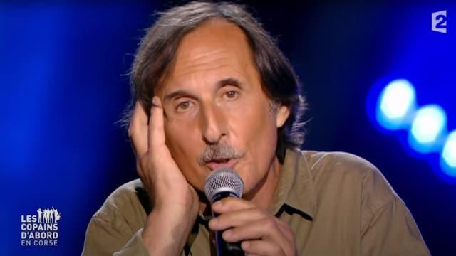 Le chanteur Petru Guelfucci en 2016