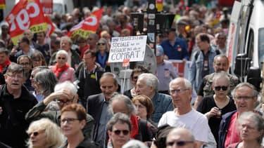 Des milliers de retraités ont manifesté partout en France.