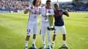 David Luiz, Thiago Silva et Lucas