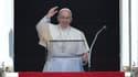 Le pape François lors de la prière de Saint François d'Assise, le 30 août 2015 au Vatican