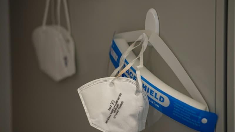 Les autorités sanitaires rappellent près de 17 millions de masques FFP2 distribués aux soignants