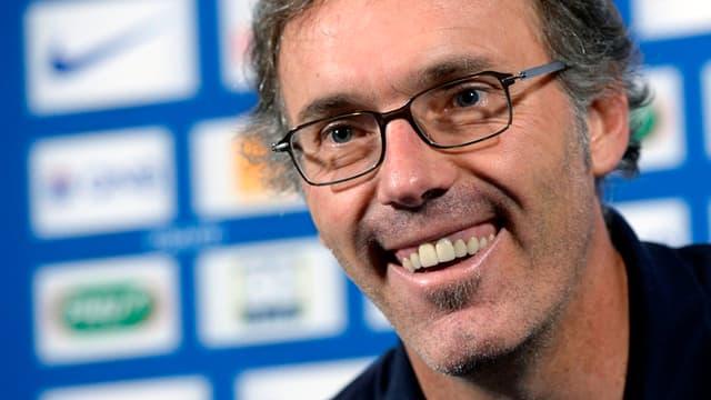 Laurent Blanc, l'entraîneur du PSG