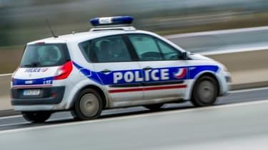 Une voiture de police. Photo d'illustration