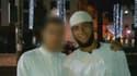 A droite, le jeune marocain Ayoub El-Khazzani soupçonné d'avoir voulu commettre un carnage dans un train Thalys.