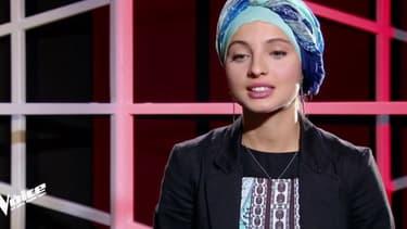 """Mennel Ibtissem dans """"The Voice"""", le 3 février 2018"""