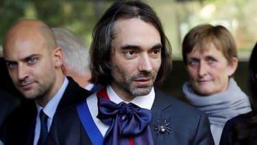 Le mathématicien et député (LaREM) Cédric Villani, le 25 octobre 2017 à Orsay, en région parisienne.