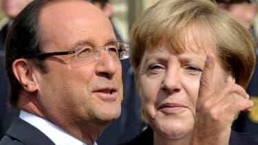 François Hollande et Angela Merkel s'opposent notamment  sur l'Union bancaire