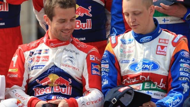 Loeb et Hirvonen piloteront ensemble chez Citroën en 2012