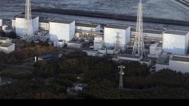 La centrale nucléaire de Fukushima, au Japon.