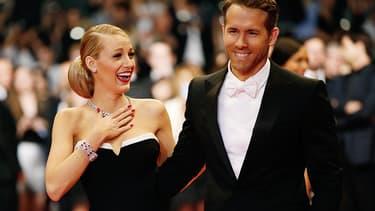 Ryan Reynolds et Blake Lively, à Cannes en 2014.