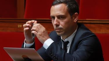 Adrien Taquet à l'Assemblée nationale.