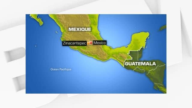 La zone de l'enlèvement du Français au Mexique.