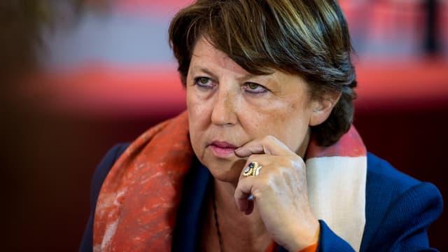 La maire de Lille Martine Aubry, le 13 septembre 2014