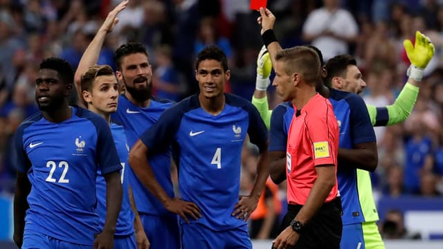 Varane exclu face à l'Angleterre
