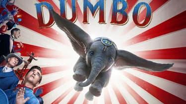 """Le film """"Dumbo"""" de Tim Burton, visible sur Canal+ en clair."""