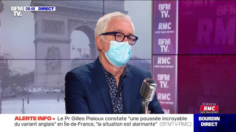 Gilles Pialoux face à Jean-Jacques Bourdin en direct  - 10/02