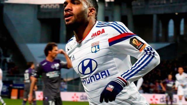 Alexandre Lacazette avait pris part à tous les matches de L1 depuis le début de la saison.