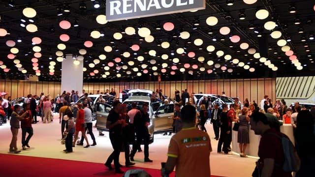 La stratégie de Renault a été saluée par certains de ses concurrents lors du Mondial de l'auto.