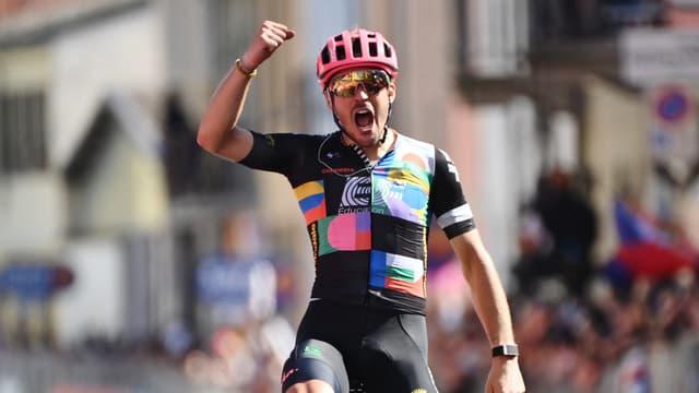 Bettiol a remporté la 18e étape du Giro