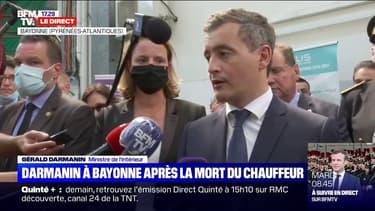"""Gérald Darmanin sur la mort du conducteur de bus à Bayonne: """"C'est un acte absolument odieux, inqualifiable"""""""