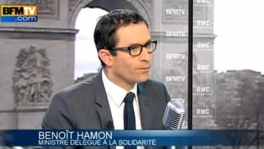 Benoît Hamon sur BFMTV-RMC ce mercredi 10 avril