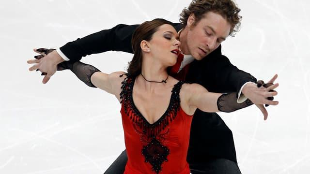 Fabian Bourzat et Nathalie Péchalat