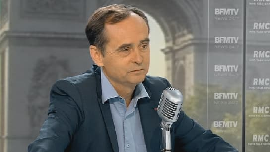 Robert Ménard, le maire RBM de Béziers, ce mercredi matin sur BFMTV.