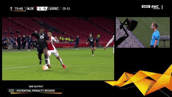 Penalty pour Lille