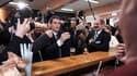 Manuel Valls à la fête de la Rose de Wattrelos dans le Nord dimanche 20 mars 2016