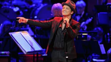 Bruno Mars en concert le 31 mars 2017