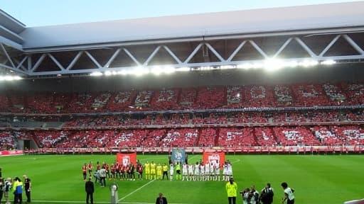 Le club de Lille a inauguré son nouveau grand stade, qui lui a coûté près de 300 millions d'euros.