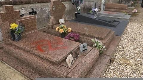Profanation de 43 tombes dans un cimetière dans l'Oise