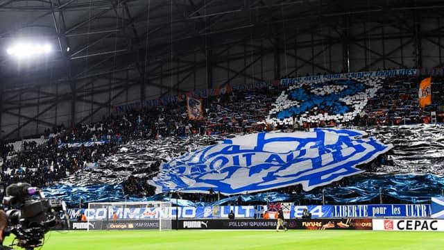 Des supporters au stade Vélodrome