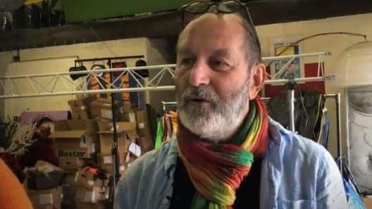 Régis Fassier, la doublure officielle de Casimir, en 2019