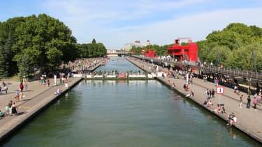 De nombreuses animations sont organisées le long du canal de l'Ourcq.