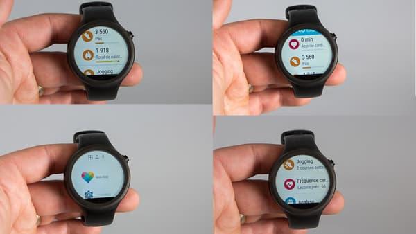 L'application Moto Body permet de consulter ses données liées à son activité sur la journée