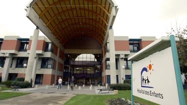 L'hôpital des enfants de Purpan à Toulouse où est morte la fillette. (Photo d'octobre 2005)