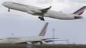 """Le gouvernement recommande à la compagnie Air France de """"temporairement"""" suspendre sa desserte à Freetown, en Sierra-Leone, à cause de l'épidémie de fièvre Ebola qui sévit dans ce pays."""
