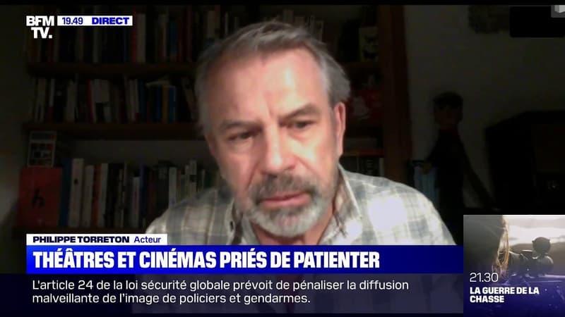 """Philippe Torreton: """"Je regrette que le gouvernement ne se soit pas servi de la culture pour aider les gens"""""""