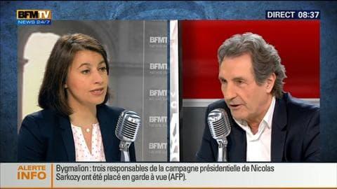 Cécile Duflot face à Jean-Jacques Bourdin en direct