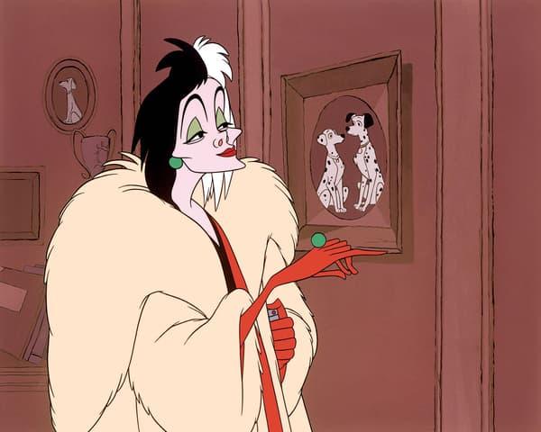 """Cruella dans """"Les 101 Dalmatiens"""""""