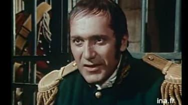"William Sabatier dans ""Schulmeister, espion de l'empereur"" (1971)"