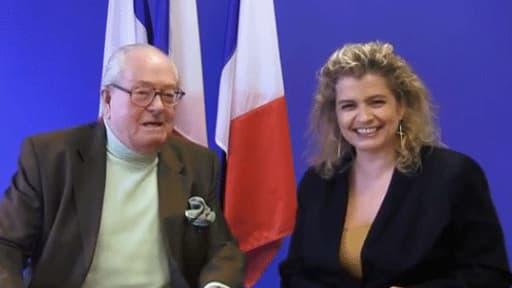 """Jean-Marie Le Pen dans son """"journal de bord"""" du 5 février"""